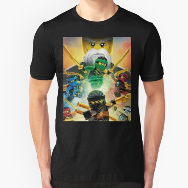 Ninjago Masters of Spinjitzu Slim Fit T-Shirt