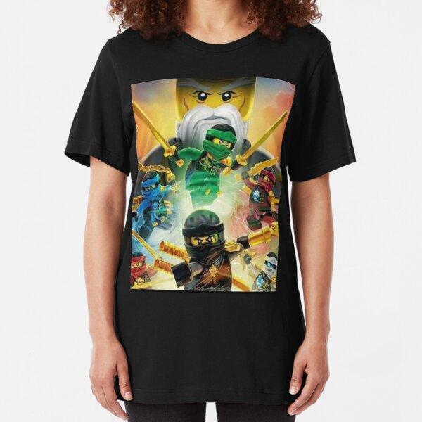 Ninjago Masters of Spinjitzu Slim Fit T-Shirt