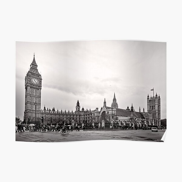 Big Ben and the Houses of Parliament - London - Britain Poster