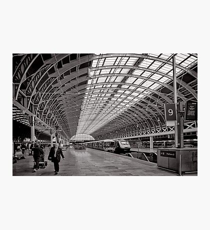 Paddington Platform 9 - London - Britain Photographic Print