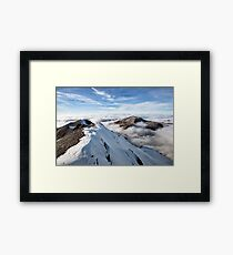 Schilthorn's Sea of Clouds Framed Print