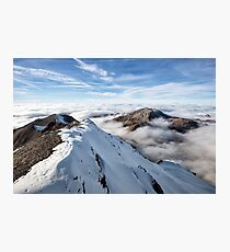 Schilthorn's Sea of Clouds Photographic Print