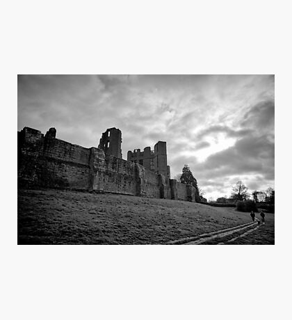 Walking and wondering of the walls that were - Kenilworth - Britain Photographic Print