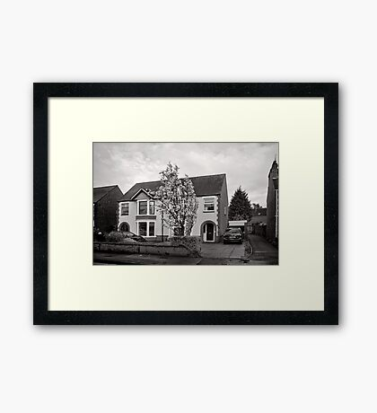 Pleasant Street - Kenilworth - Britain Framed Print
