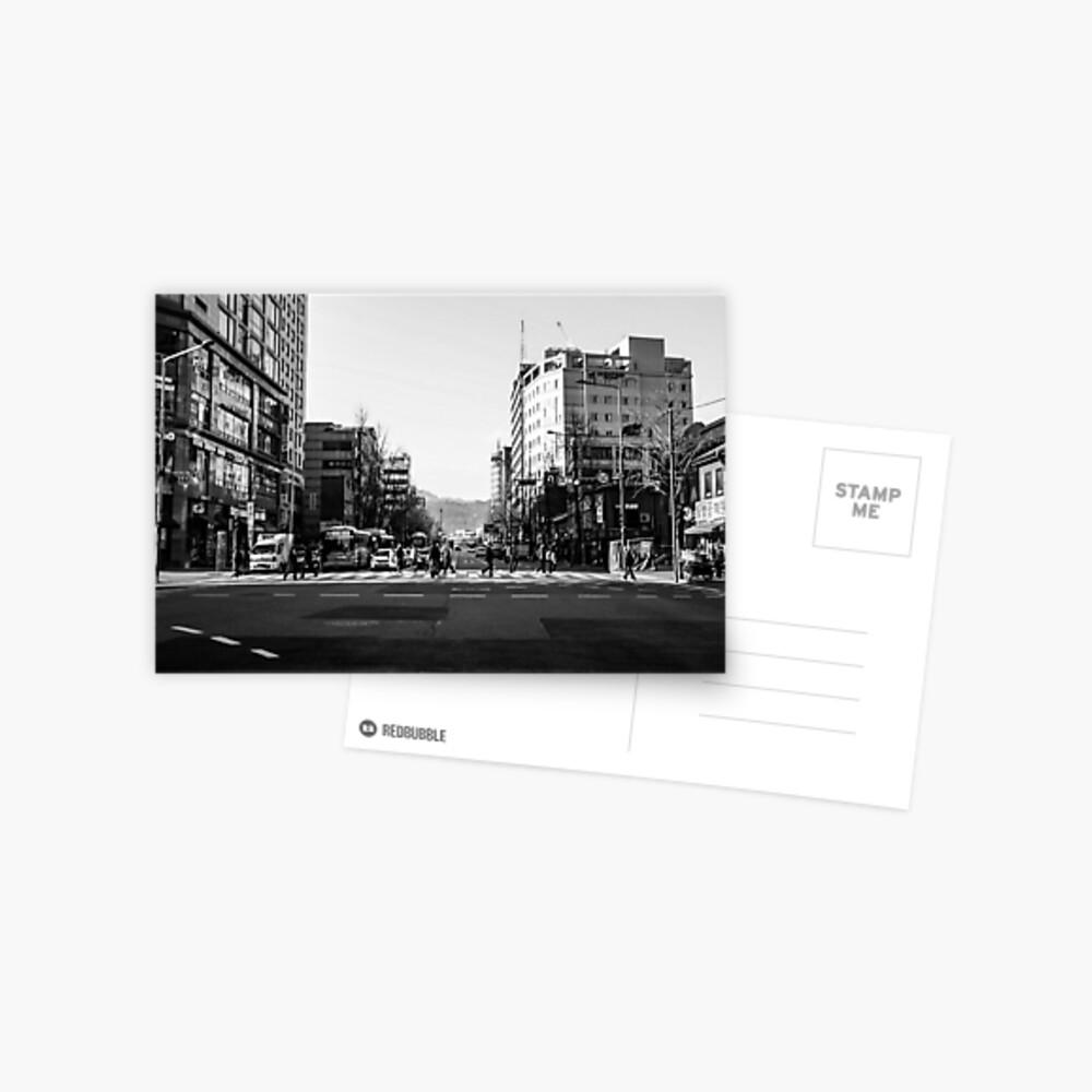 Seoul movement Postcard