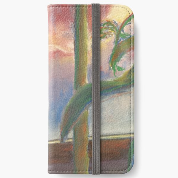 Wistful (pastel) iPhone Wallet