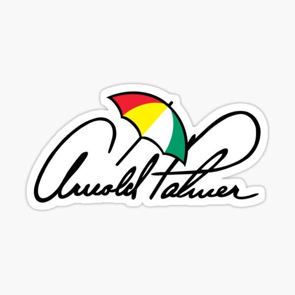 Arnold Palmer Glossy Sticker