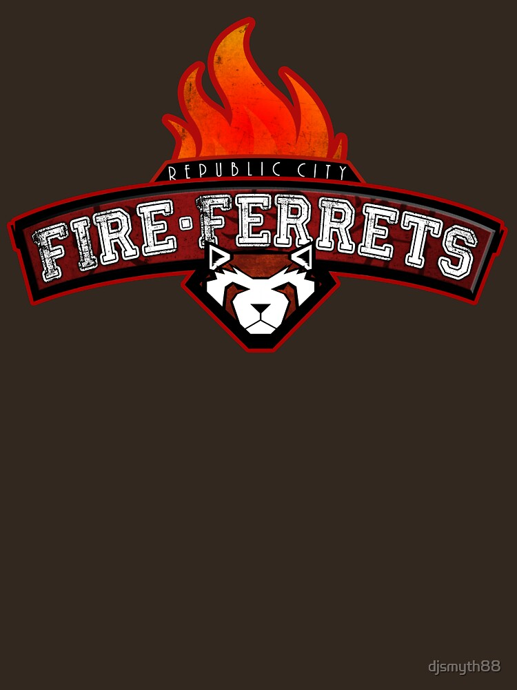 Republic City Fire Ferrets | Unisex T-Shirt