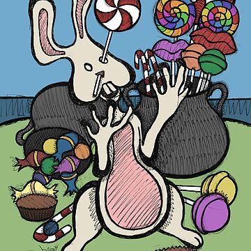 Teddy Bear And Bunny - Sugar Crash 2 by bgilbert