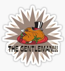 "How I met your mother ""the Gentleman"" Sticker"