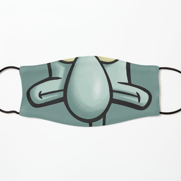 Squidward Kids Mask