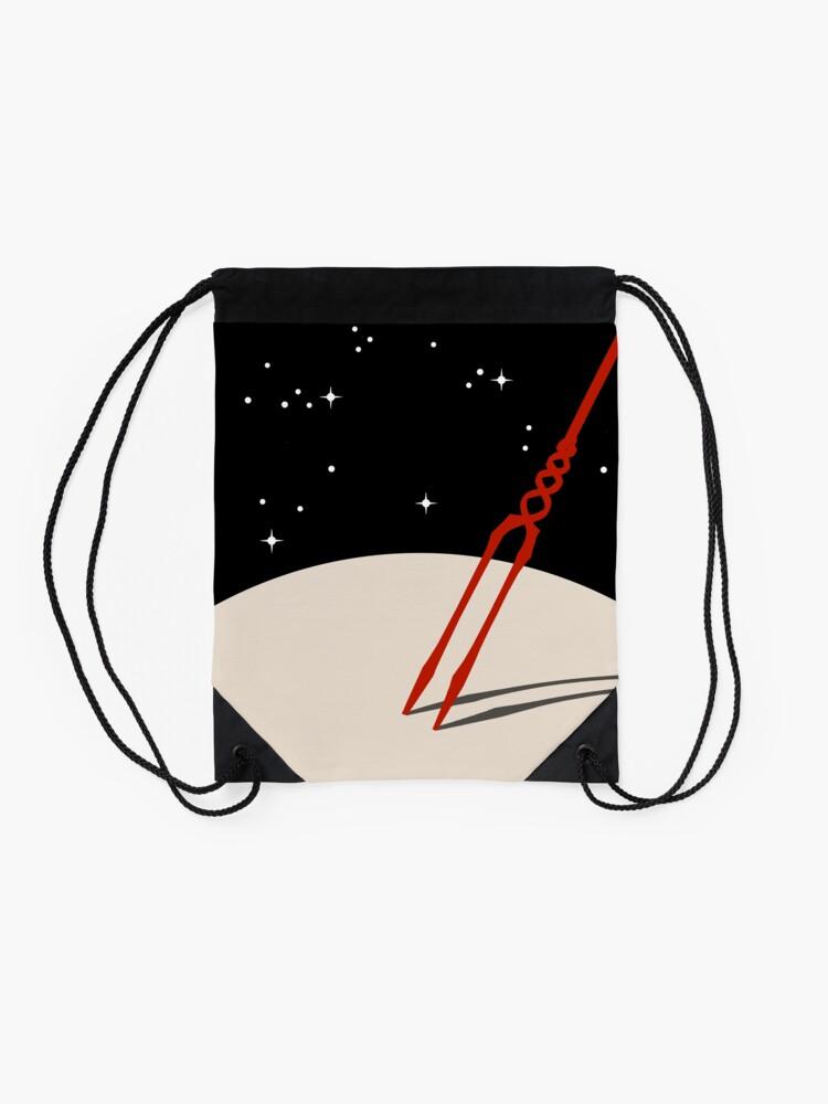 Alternate view of Lance of Longinus - no logo Drawstring Bag