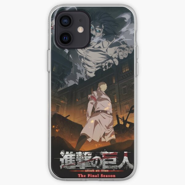 Attack On Titan Season 4 Poster iPhone Soft Case