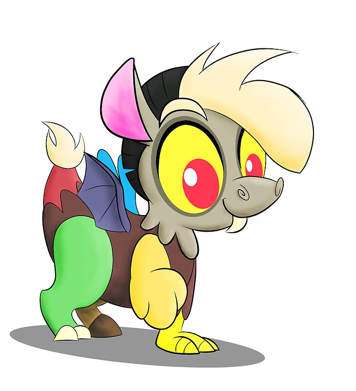"Baby Discord And Fluttershy ""Baby Disc..."