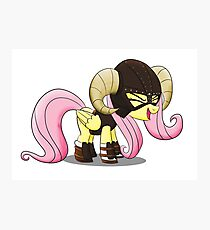 FUS RO yay (Fluttershy from My Little Pony: Friendship is Magic) Photographic Print