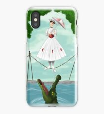 Haunted Mansion- Mary Poppins  iPhone Case