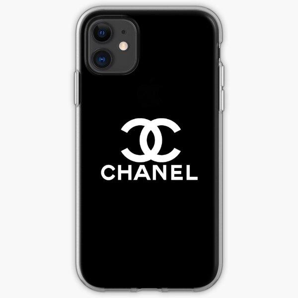 chanel Funda blanda para iPhone