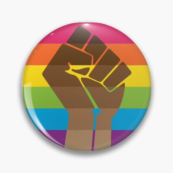 LGBT+ & BLM Pride Fist Pin