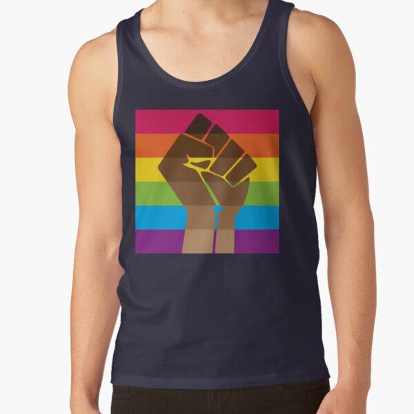 LGBT+ & BLM Pride Fist Tank Top