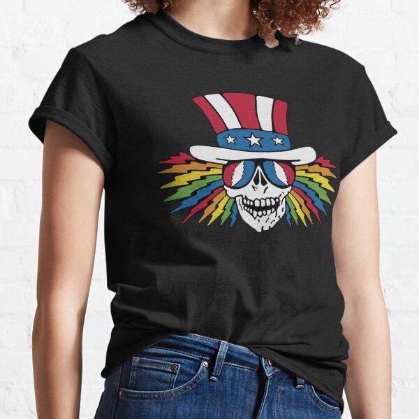 Uncle Sam Skeleton Shirt, Sticker, Poster, Mask Classic T-Shirt