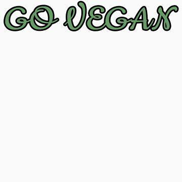 Go Vegan Shirt by jonathanhughes