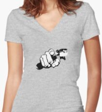 Got coffee? Women's Fitted V-Neck T-Shirt