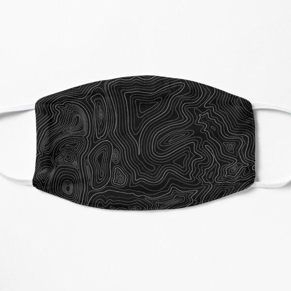 topographic map Mask