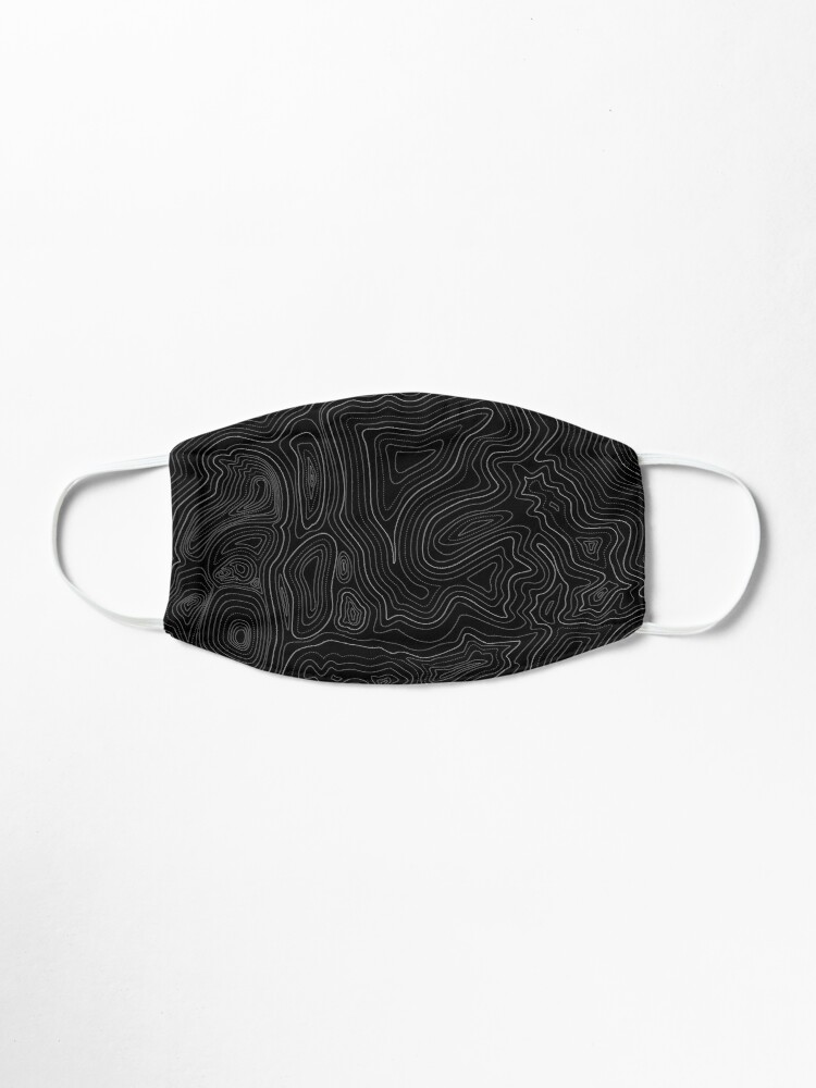 Alternate view of topographic map Mask