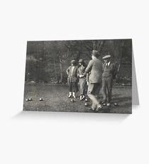 Bowling 1923 Greeting Card