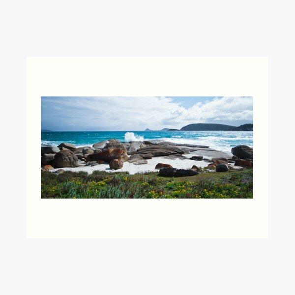 Squeaky Beach - Wilson's Promontory National Park Art Print