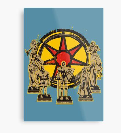 FAITH OF THE SEVEN Metal Print