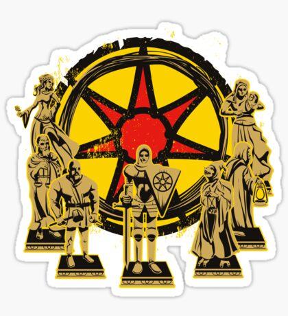 FAITH OF THE SEVEN Sticker
