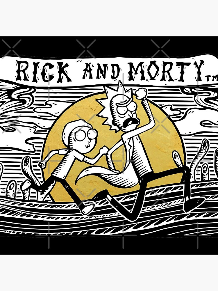 Rick & Morty by castl3t0ndesign