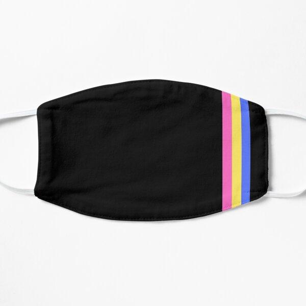 Subtle Retro Pansexual Flag  Flat Mask
