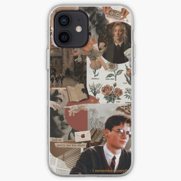 Vintage Dark Academia Aesthetic Phone Case iPhone Soft Case
