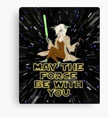 Jedi Mistress Yoda Canvas Print