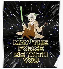 Jedi Mistress Yoda Poster