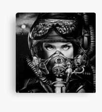 The Postman Canvas Print