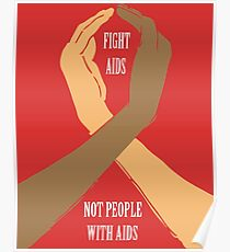 HIV/AIDS day Solidarity support Poster
