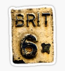 BRIT 6 Sticker