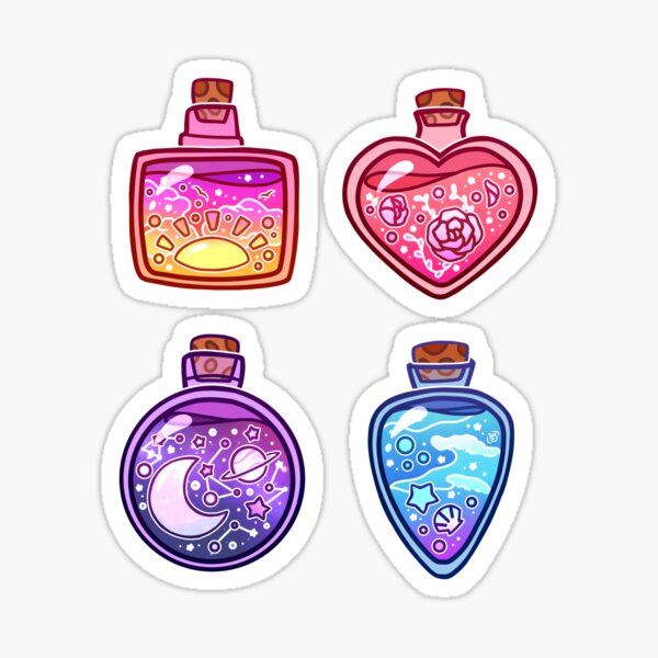 Summer Potions Sticker Sheet Sticker