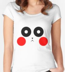 Pikachu Stare Women's Fitted Scoop T-Shirt