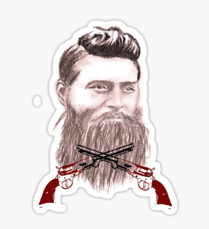 ned kelly Sticker