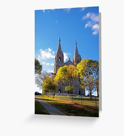 Hope on the Hill Greeting Card