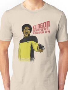 Klingon MotherF**ker Do You Speak It?! Unisex T-Shirt
