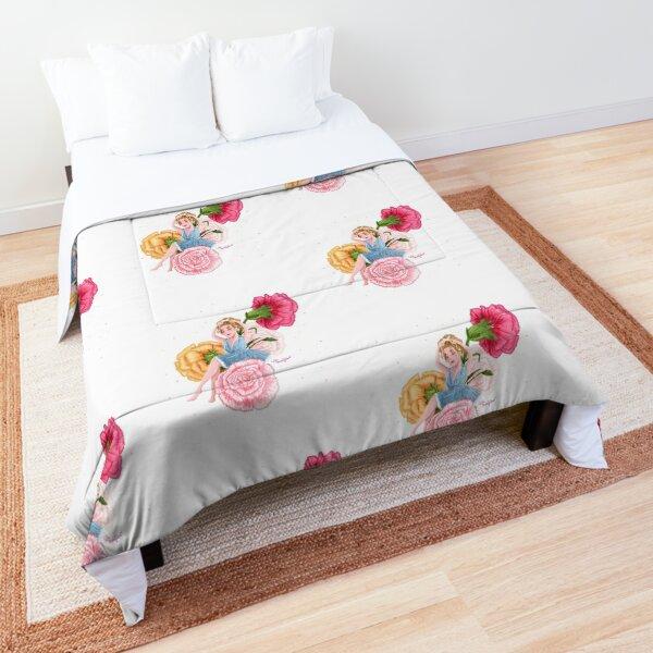 Carnation Girl Comforter