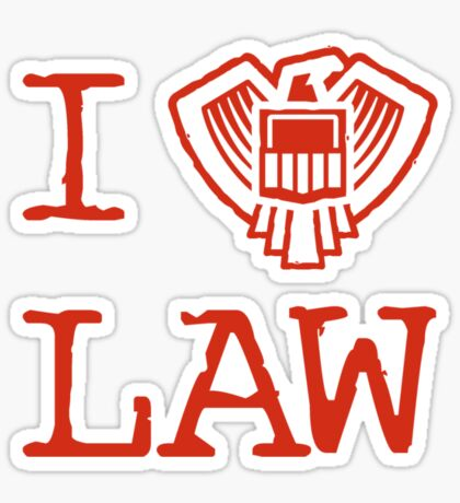 Law Lover Sticker