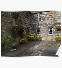 Stable Courtyard Poster