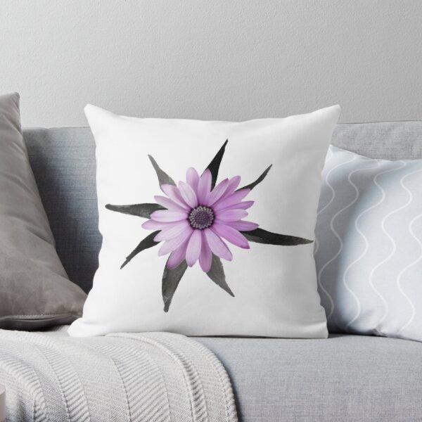 Ace Flower Throw Pillow