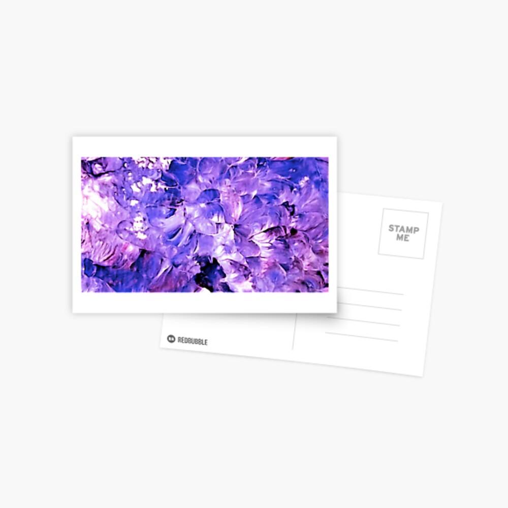 Violets in Fairyland Postcard